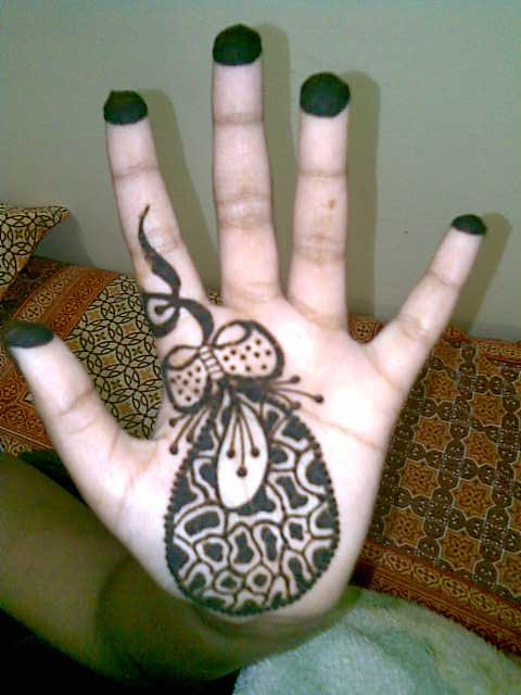صور حنة سودانية مبالغة