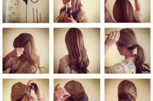 صور تسريحات الشعر الطويل الحفلات