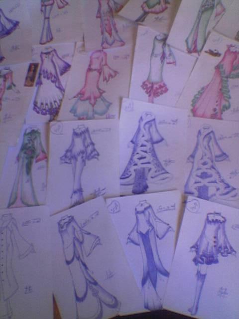 صورة طريقة تفصيل الملابس النسائية