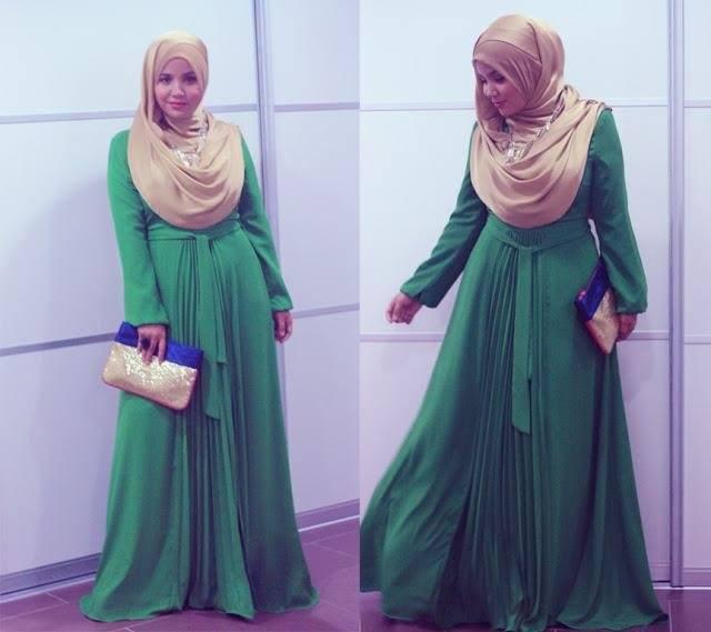 صورة ملابس حوامل محجبات صيف 2017