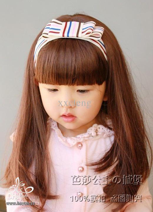 صورة تسريحات شعر للاطفال للشعر القصير والخفيف