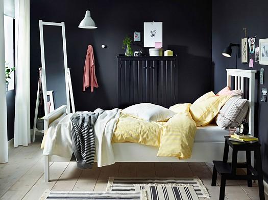صورة غرف نوم شبابية من ايكيا اروع غرف كول