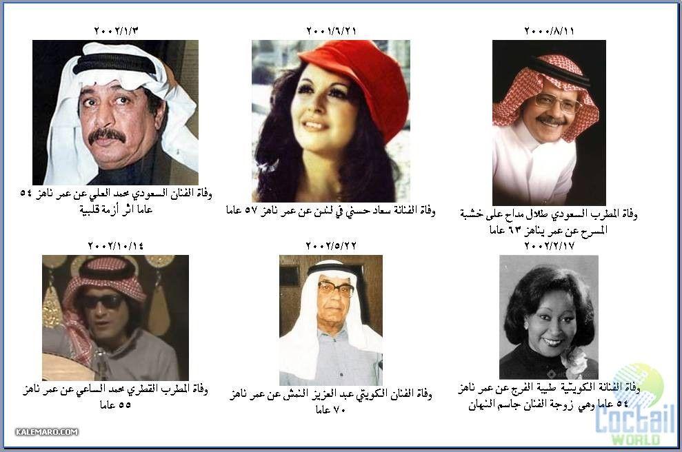 صورة الممثلين المتوفين لهذا العام