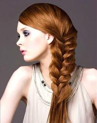 صورة ضفائر الشعر الطويل الاحدث