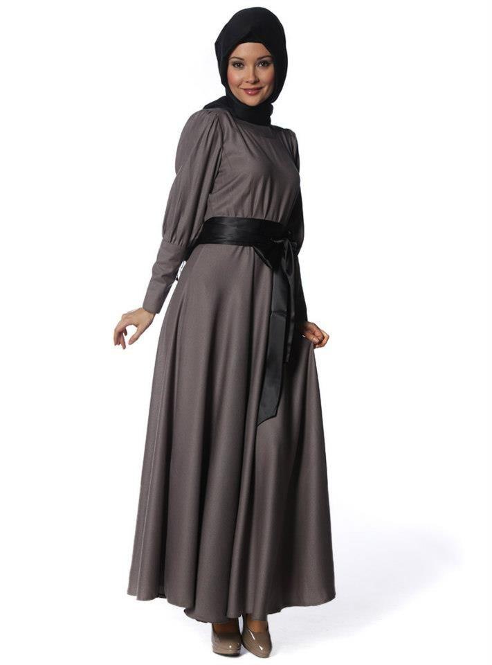 صورة اجمل لباس المحجبات 2017 ستايلات كول جديدة