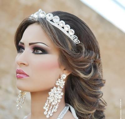 صورة عمل مكياج عروس