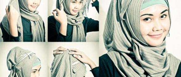 صورة كيفية وضع الحجاب بطريقة عصرية