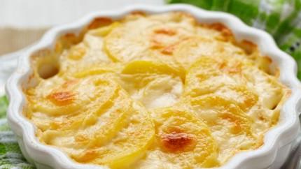 صورة طريقة عمل غراتان البطاطا