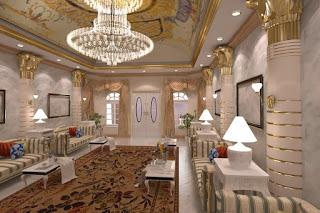 صورة احدث ديكور غرف مجالس اماراتية 2020 تشكيلة حلوة