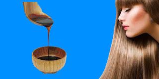 صورة فوائد العسل الاسود على الشعر