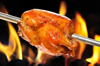 صورة الدجاج المشوي بالفرن