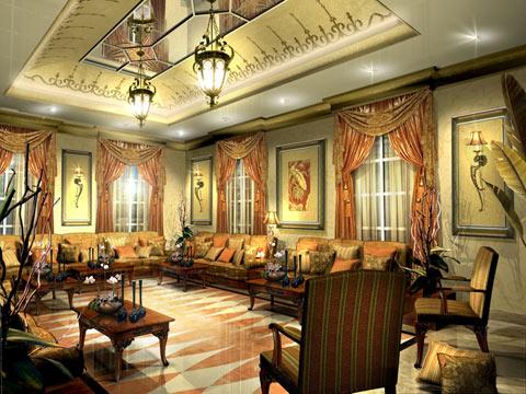 صورة بيوت ملكية جميلة