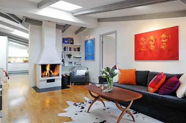 صورة تصميم منزلية داخلية جميلة