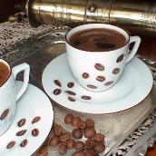 صورة صنع القهوة التركية