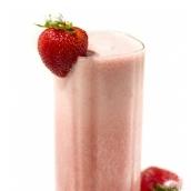صورة عصير فراولة وموز