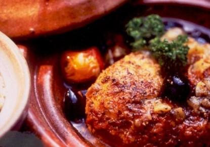 صورة الطاجين المغربي بالدجاج