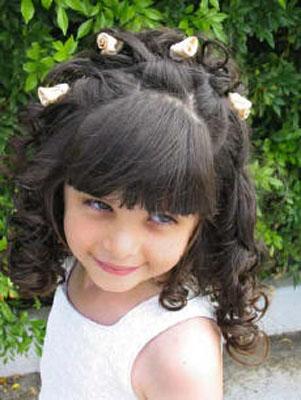 صورة بنات شعرها روعه اطفال