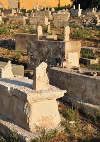 صورة دعاء القبور و ما يقال عند زيارة القبور
