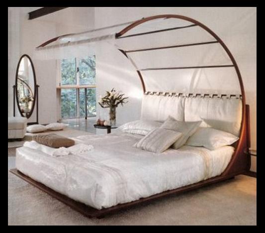 صورة ستائر اورجانزا لغرف النوم