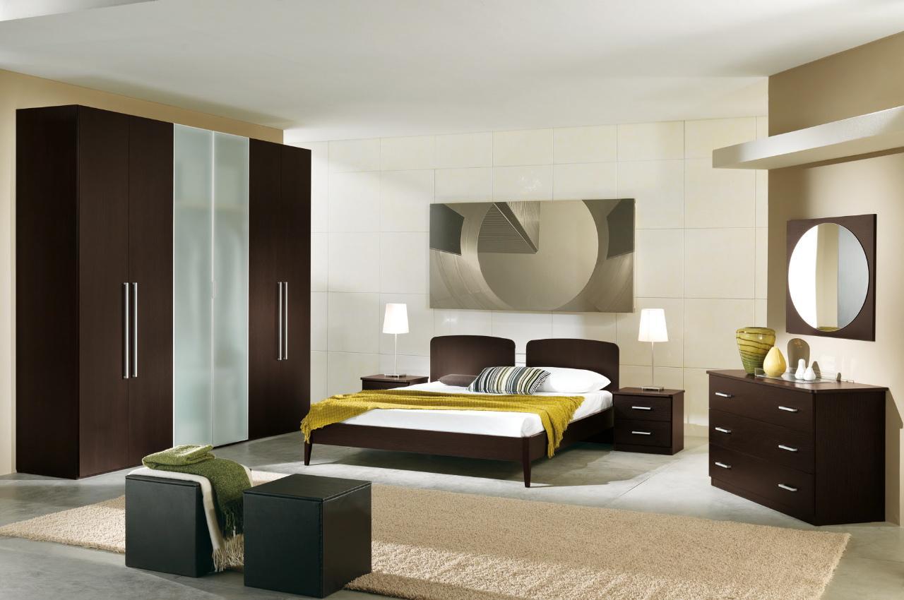 صورة ديكور غرفة النوم بسيطة