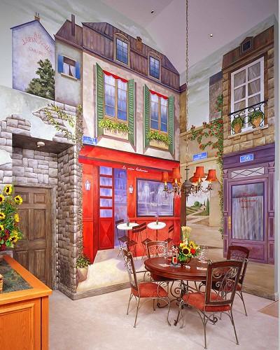 صورة احلى رسومات الجدران والحوائط