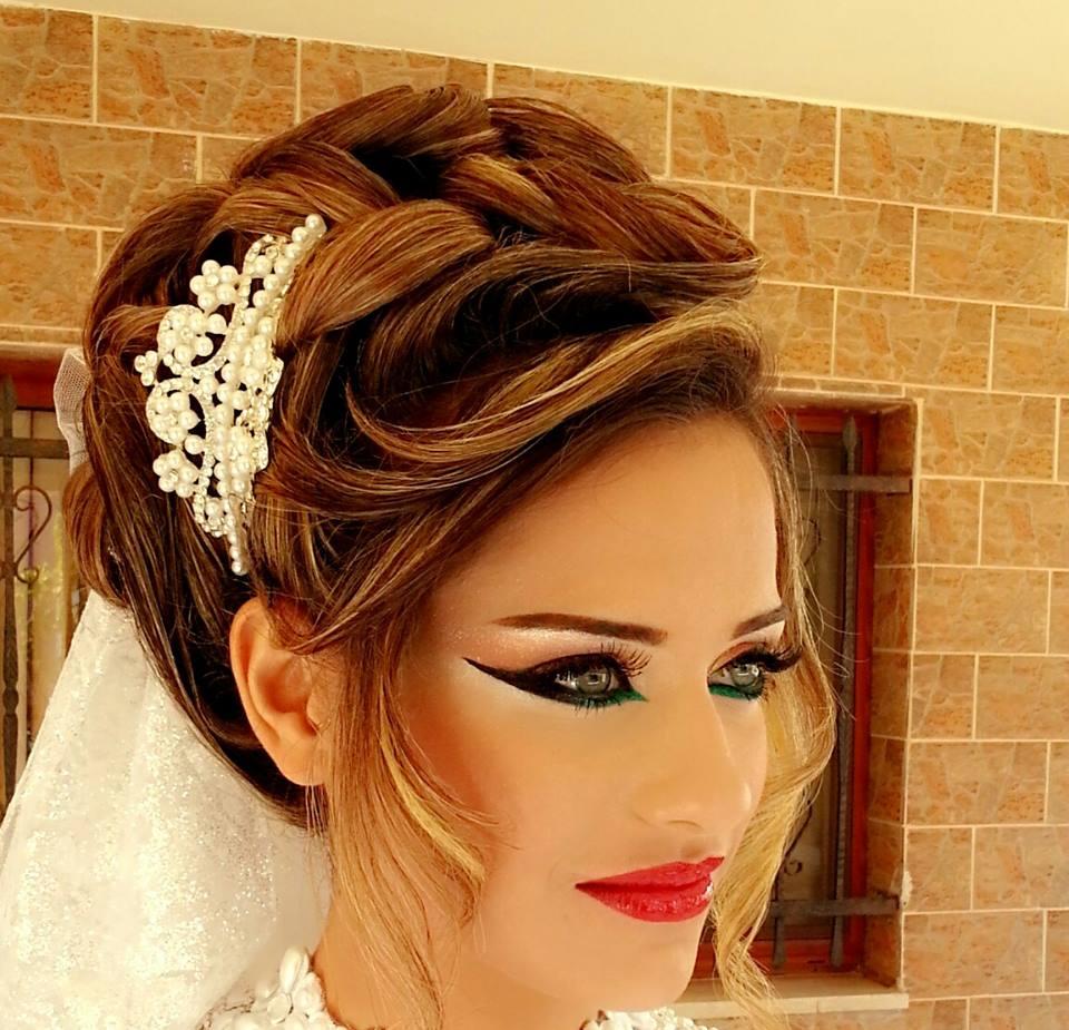 صورة مشطات عروس 2017