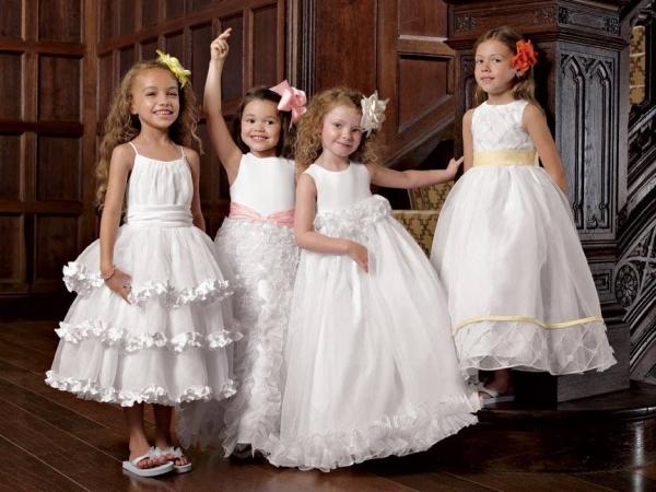 صورة فستان فرح للاطفال