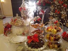 صورة تزيين طاولات استقبال