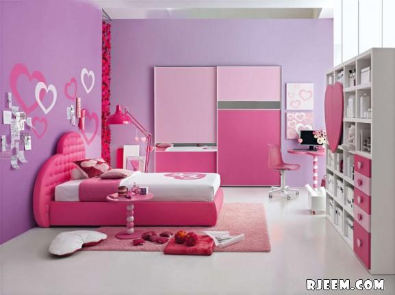 بالصور غرف بنات باللون الوردي 20161004 480