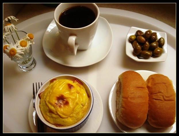 صورة وجبه افطار سريعه ولذيذه