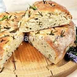 صورة طريقة الخبز الايطالي