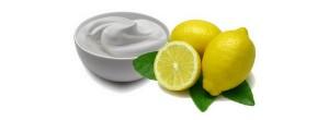 صورة قناع الحليب والليمون للوجه
