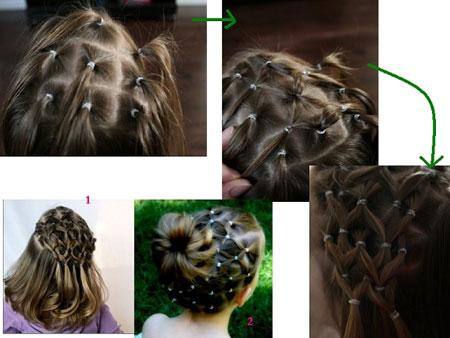 بالصور طريقة عمل تسريحات الشعر للاطفال 20161004 88