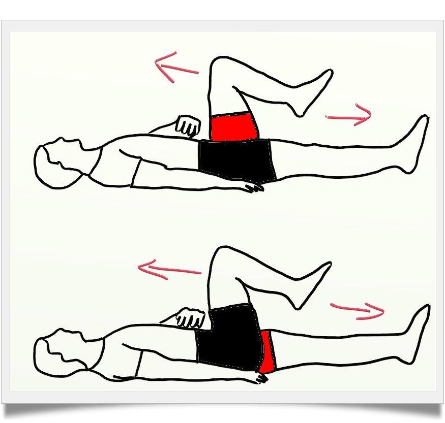 صورة تمارين لشد عضلات البطن بالصور