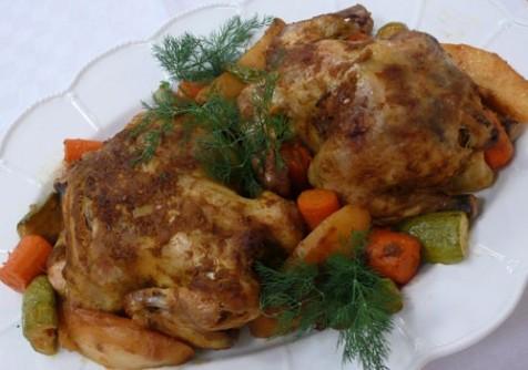 صورة طريقة عمل الدجاج المشوي بالكيس