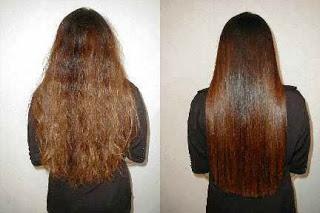 صورة طريقة تنعيم الشعر الخشن