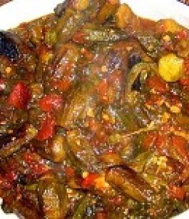 صورة طريقة طهي االبامية بالزيت