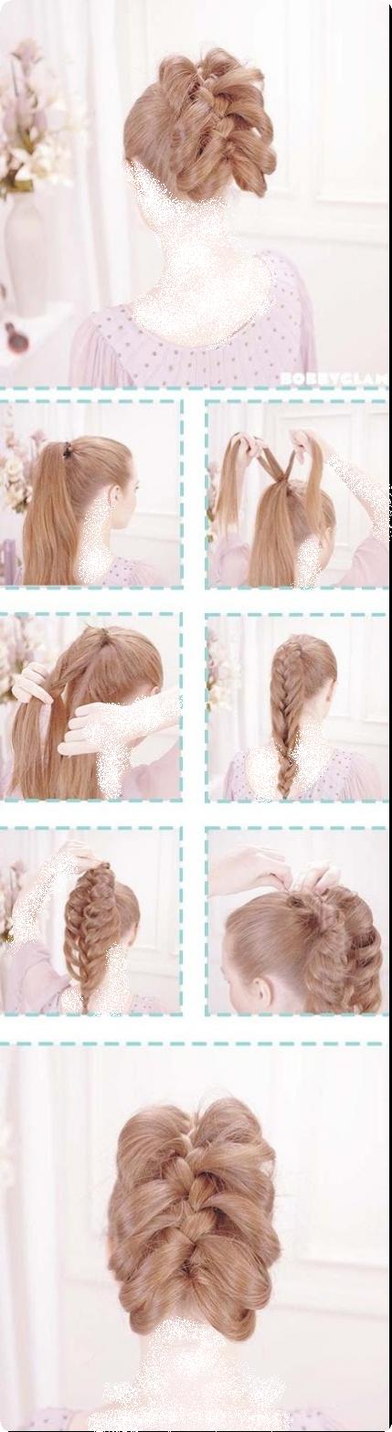 صورة اجمل تسريحات الشعر للبنات