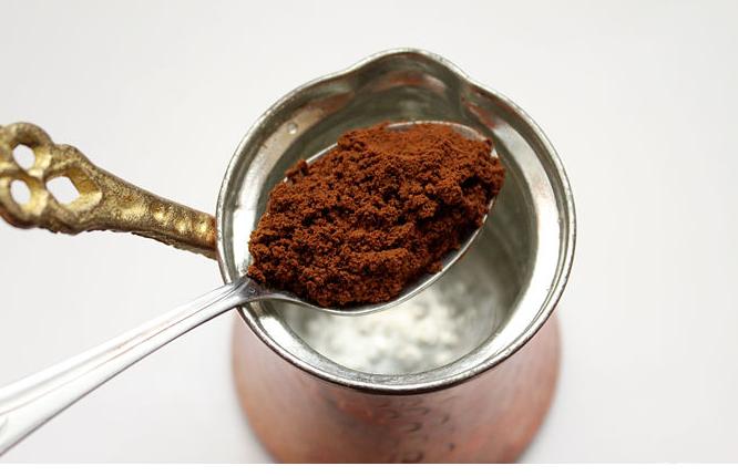 صورة طريقه عمل القهوة التركي