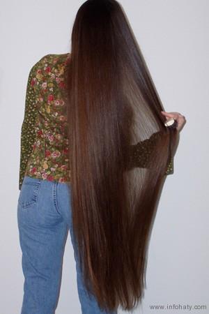 صورة خلطة لتنعيم الشعر