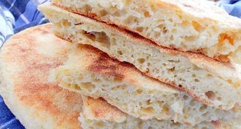 صورة انواع خبز الدار