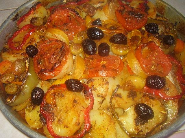 صورة اطباق جزائرية في الفرن بالصور