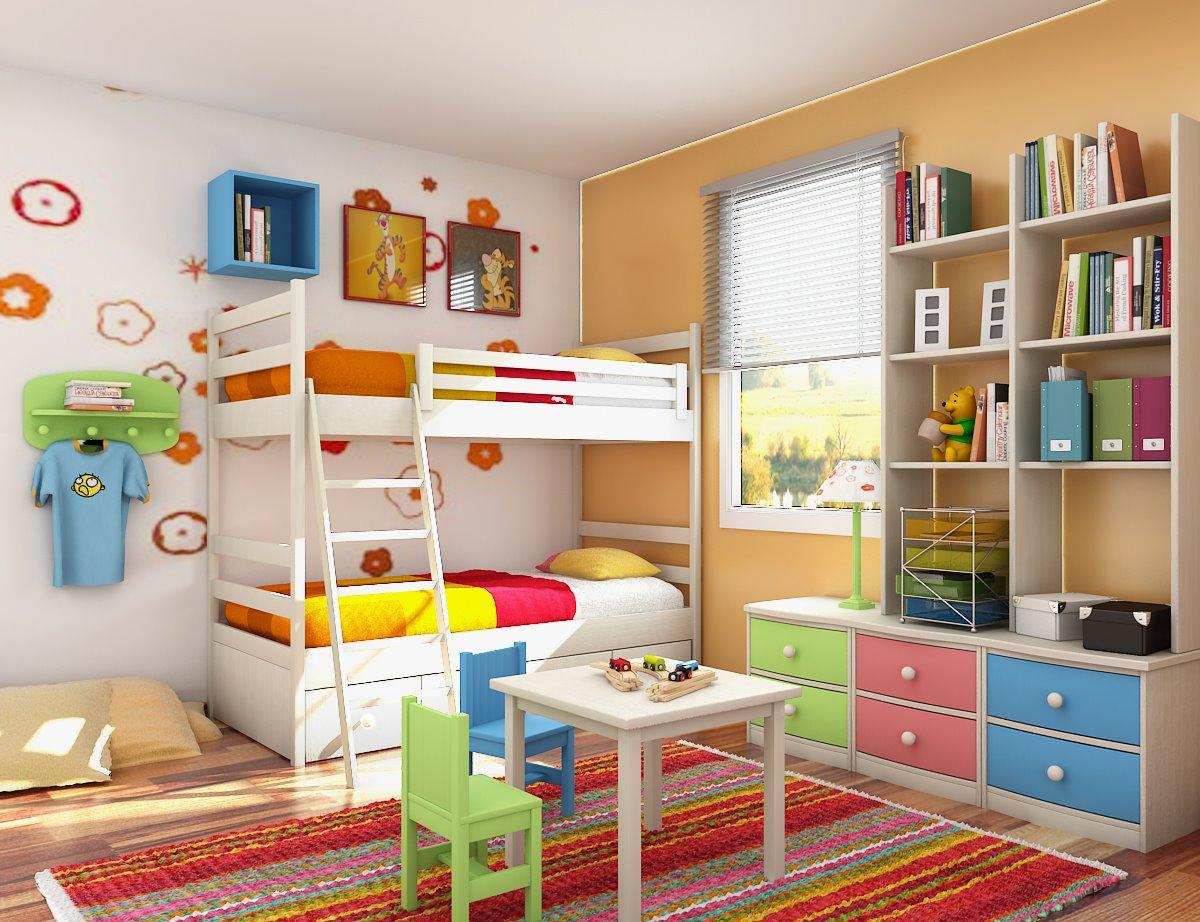 صورة غرف اولاد كبار
