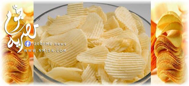 صورة طريقة عمل البطاطس الشيبسى المقرمشة