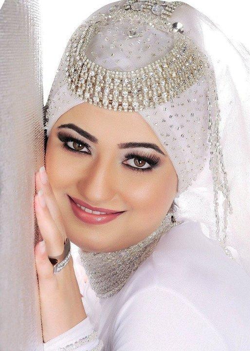 صورة حجاب العروسة 2020