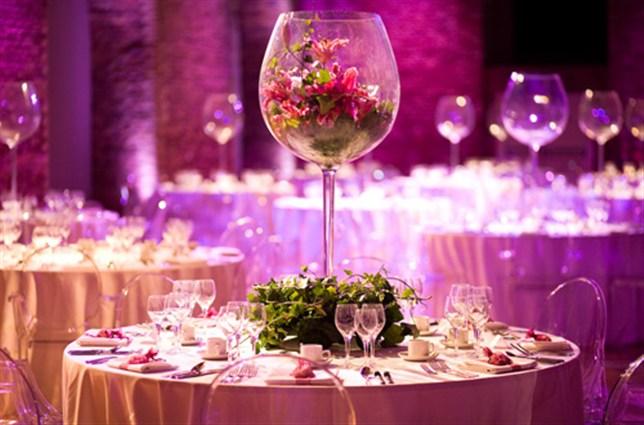 صور تصميم طاولات افراح بالصور