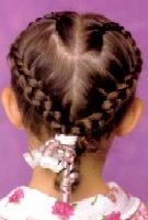 صورة مش هتحتاري بعد كده في شعر طفلتك ,تسريحات للشعر القصير بالصور للمدرسه
