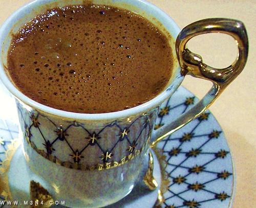 صور كيف عمل قهوة تركية