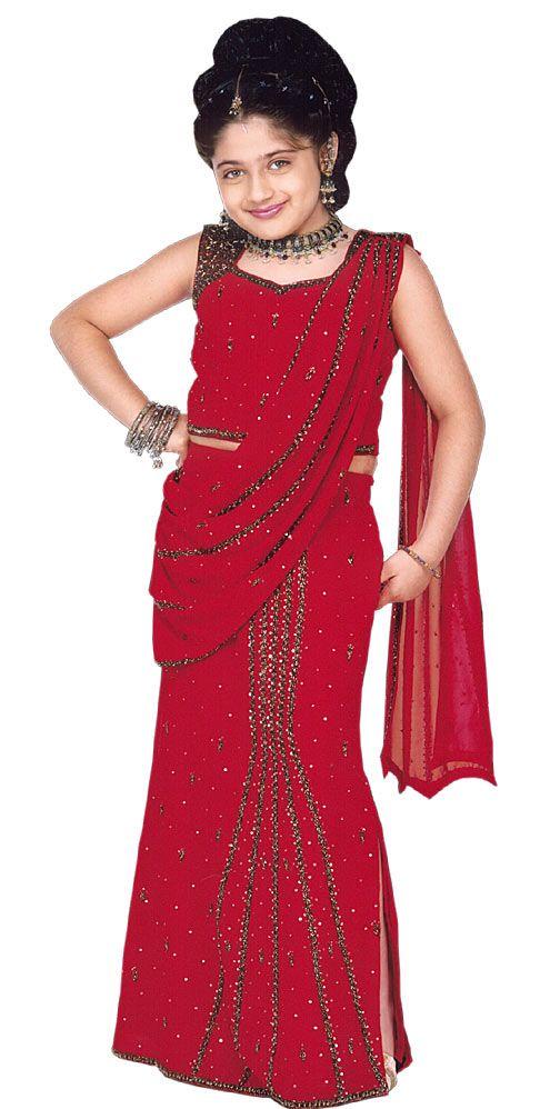 صورة فساتين هندية للبنات الصغار