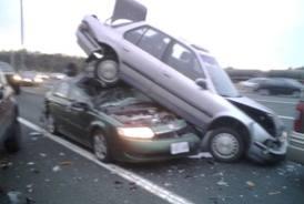 صورة حادث السيارة في المنام